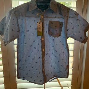 Other - Boys anchor button down shirt